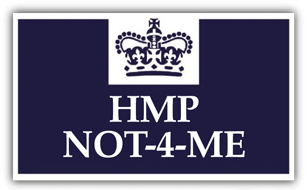 HMP Not 4 Me logo