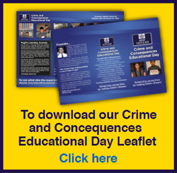 Download Crime and Consequences Day leaflet